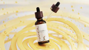 dobre serum do twarzy z witaminą c Nanoil
